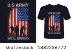 """""""u.s army we'll defend"""" print t ... 