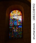 Stained Glass In Maria Laach...
