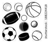 Sports Ball Collection Eps 10...