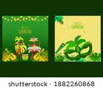 brazil carnival poster design... | Shutterstock .eps vector #1882260868