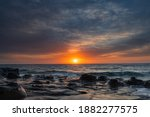 Colourful Sunrise Seascape With ...