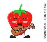 vector illustration of cute...   Shutterstock .eps vector #1882411552