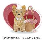 Valentines Day Card Cute Basket ...