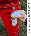 Hand Posting Christmas Cards...