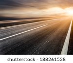 Background Of Road And Sky