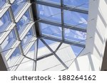 metal and glass construction... | Shutterstock . vector #188264162