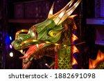 An Illuminated Chinese Dragon...