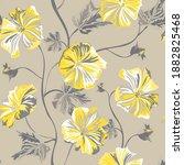 elegant seamless pattern with...   Shutterstock .eps vector #1882825468