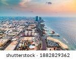 Landscape View Of Jeddah Sea...
