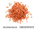 Pile Of Red Mineral Fertilizers ...