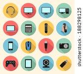 technology  computer ... | Shutterstock .eps vector #188298125