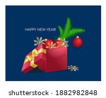 christmas and new year design.... | Shutterstock .eps vector #1882982848