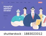 medical insurance illustration  ...   Shutterstock .eps vector #1883023312