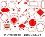 japanese pattern  japanese... | Shutterstock .eps vector #1883083195