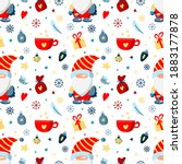 seamless vector pattern with... | Shutterstock .eps vector #1883177878