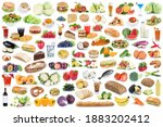 food and drink collection... | Shutterstock . vector #1883202412