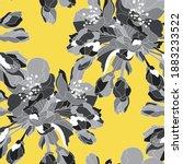 elegant seamless pattern with...   Shutterstock .eps vector #1883233522