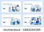business negotiations web... | Shutterstock .eps vector #1883234185