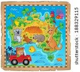 australian map theme image 4  ...   Shutterstock .eps vector #188329115