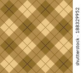 seamless diagonal plaid pattern ... | Shutterstock .eps vector #188329952