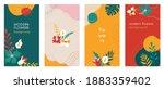 abstract flowers social media... | Shutterstock .eps vector #1883359402