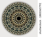 Ethnic Greek Mandala Vector...