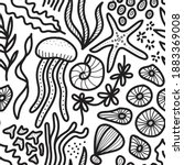 Coloring Book Set Of Isolated...