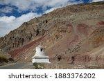 Chorten Or Stupa Is An...