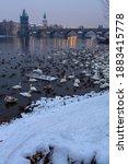 Landscape With Vltava River ...