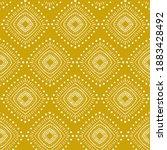 seamless ethnic geometric... | Shutterstock . vector #1883428492