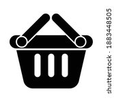 shop basket online shopping icon | Shutterstock .eps vector #1883448505