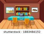 element of home interior room...   Shutterstock .eps vector #1883486152