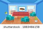 element of home interior room...   Shutterstock .eps vector #1883486158