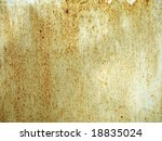 rusty metallic surface great as a background - stock photo