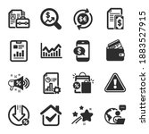 set of finance icons  such as...   Shutterstock .eps vector #1883527915