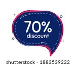 70 Percent Discount. Thought...