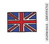 england flag doodle icon ...   Shutterstock .eps vector #1883593702