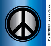 dimensional peace sign   Shutterstock .eps vector #188364722