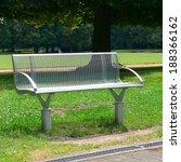 garden bench in the park        ... | Shutterstock . vector #188366162