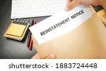 Reinstatement Order ...