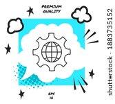 Globe Of The Earth Inside A...