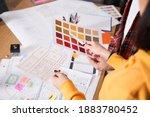 ux designers creating graphic...