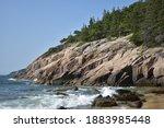 Acadia National Park Cliffs In...
