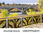 North Saskatchewan River Saskatoon Canada