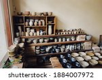 A Lot Of Heart Made Pottery In...