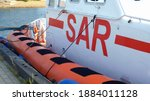 Search And Rescue Vessel Moored ...