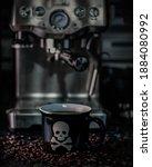 Skull and crossbones coffee mug ...