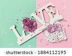 Colorful Love Background....