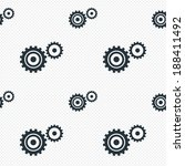 cog settings sign icon.... | Shutterstock .eps vector #188411492