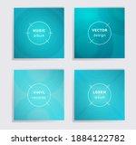 geometric vinyl records music...   Shutterstock .eps vector #1884122782
